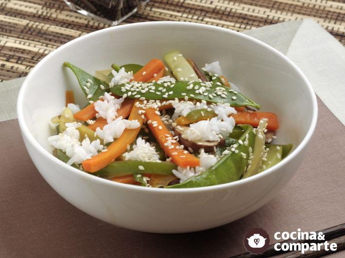 Verduras orientales