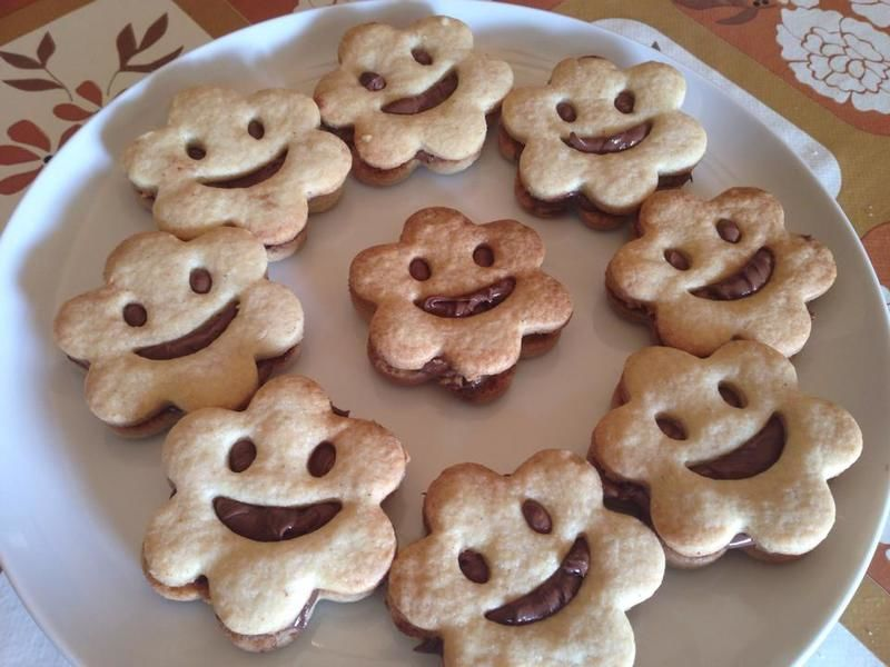 Galletas felices de chocolate