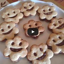 Galletas felices de chocolate