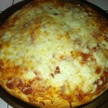Pizza a los tres quesos