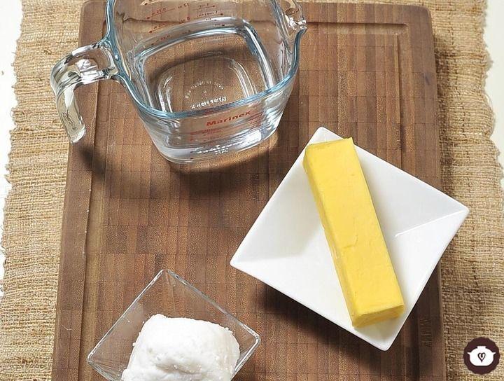 Cómo medir manteca o mantequilla