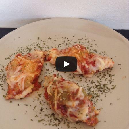 Pasta Italiana caracoles rellenos