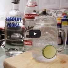 Vodka limón Anti-resaca