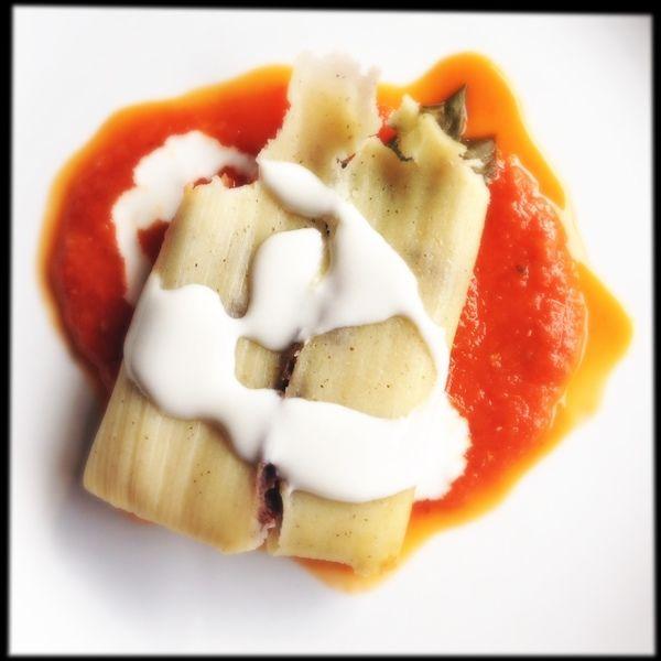 Tamales de acelga