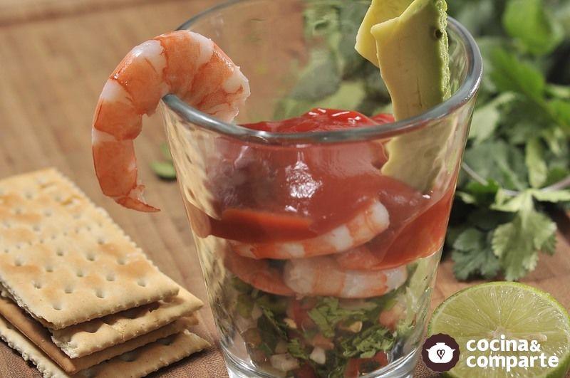 Receta c ctel de camarones cyc - Coctel de marisco ingredientes ...