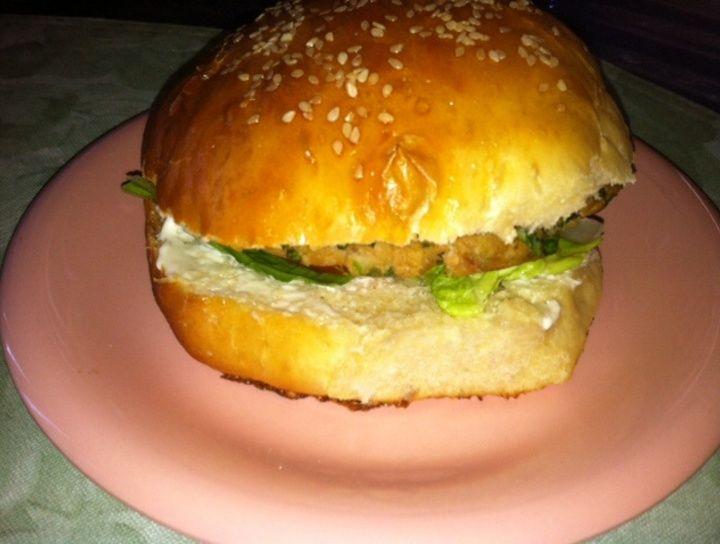 Hamburguesa de Atún