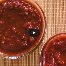 Chili carne con chile ancho y comino