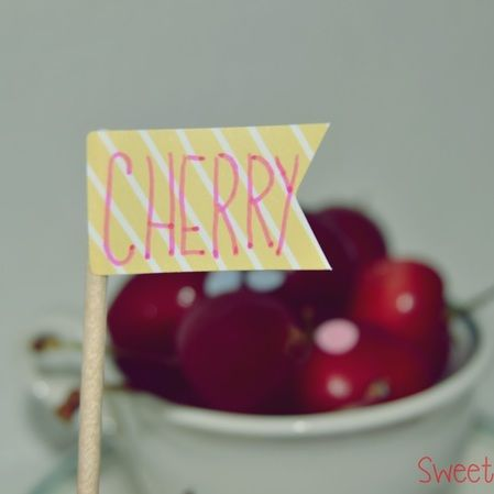 Sundae de cereza
