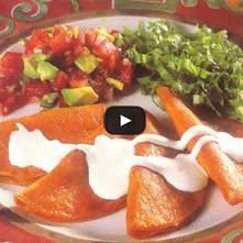 Enchiladas de pulque