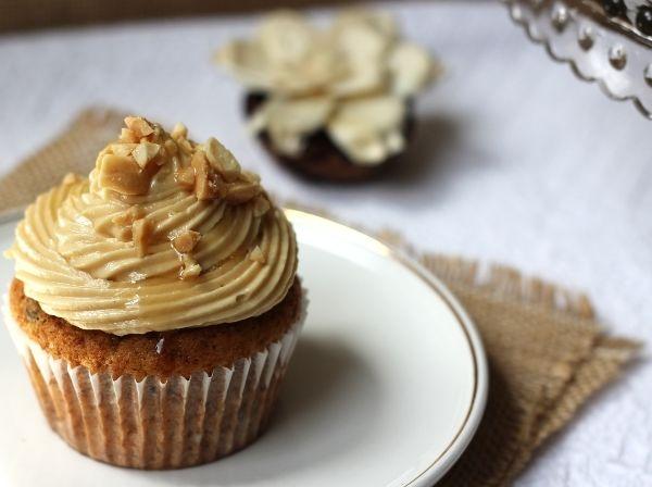 Cupcakes de crema de maní