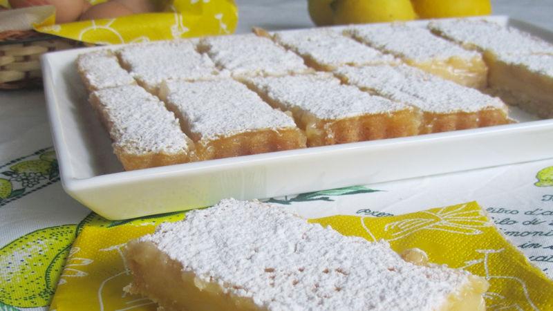 Barras de limón