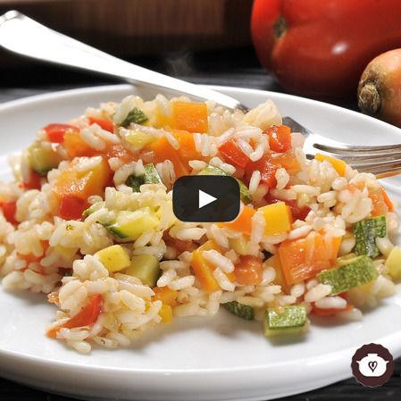 Risotto con verduras