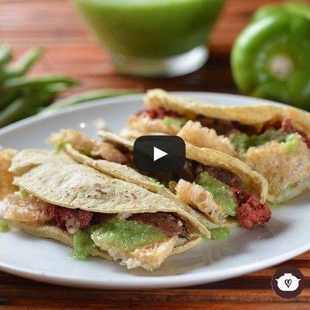 Tacos campechanos