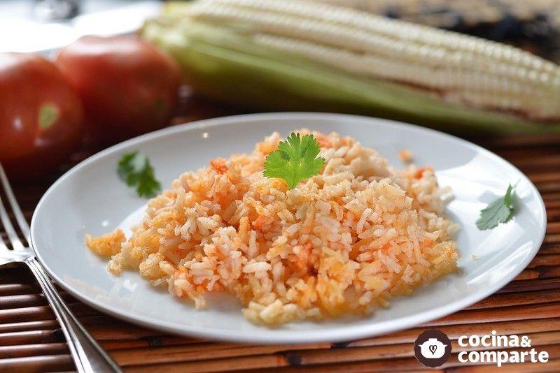 Receta arroz rojo cyc for Cocinar 2 tazas de arroz