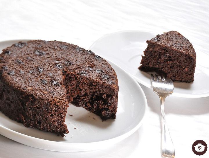 Tarta húmeda de chocolate