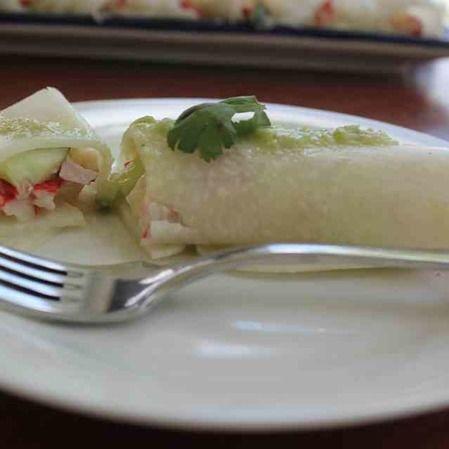 Tacos de jícama