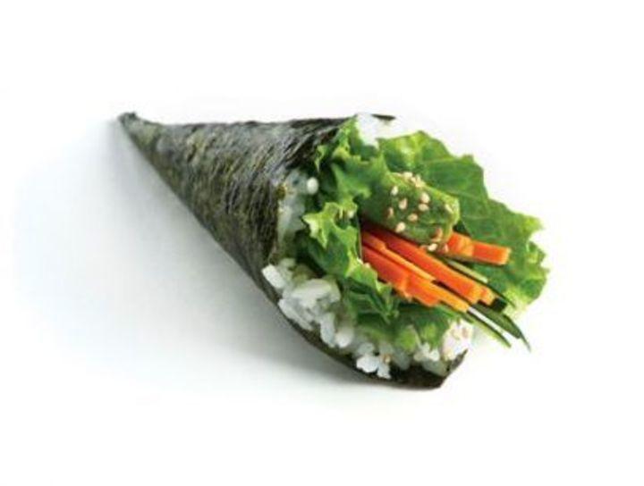 Temakis vegetarianos