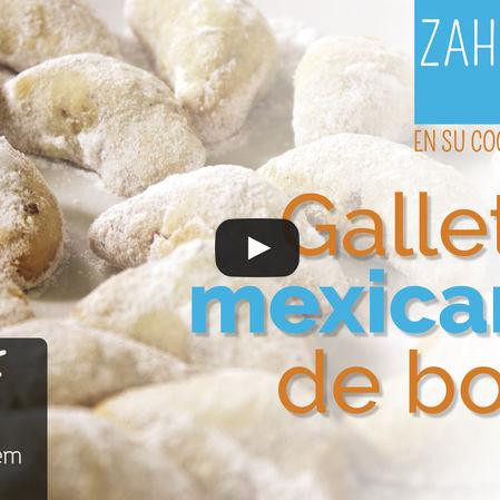 Galletas mexicanas de boda