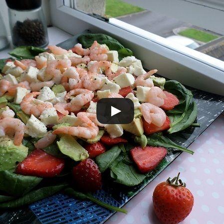 Ensalada de fresa