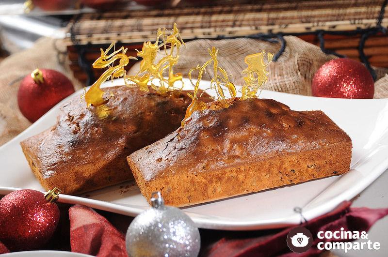 Fruit Cake de licuadora