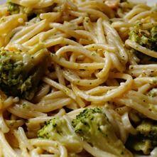 Spaghetti con brócoli