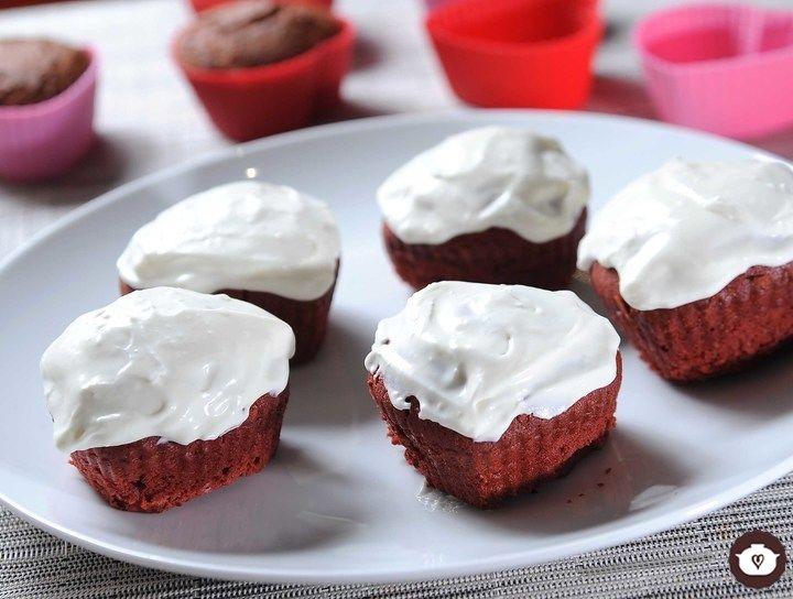 Cupcakes de Red Velvet