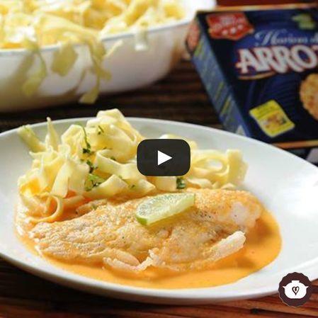 Filete de pescado en salsa de cítricos