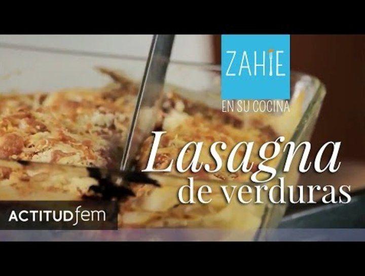 Lasagna de verduras