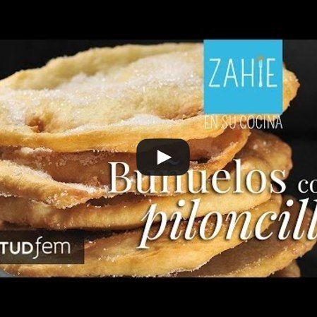 Buñuelos con Piloncillo