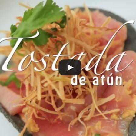 Tostada de atún