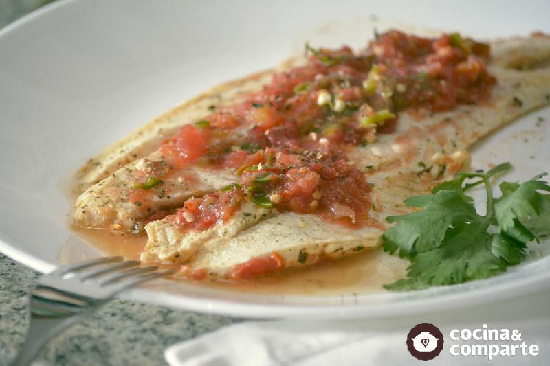 Receta pescado a la plancha sin aceite cyc for Cocinar wok sin aceite