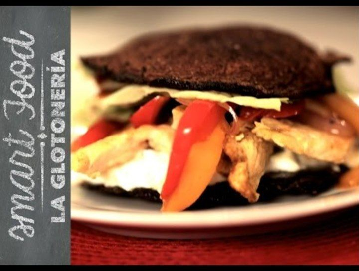 Chicken Portobello Burger