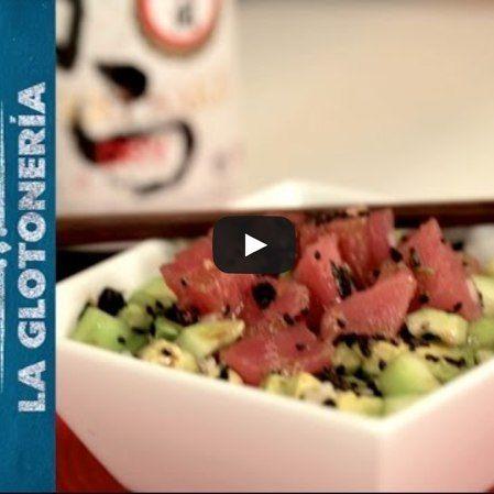 Receta para el spicy tuna bowl