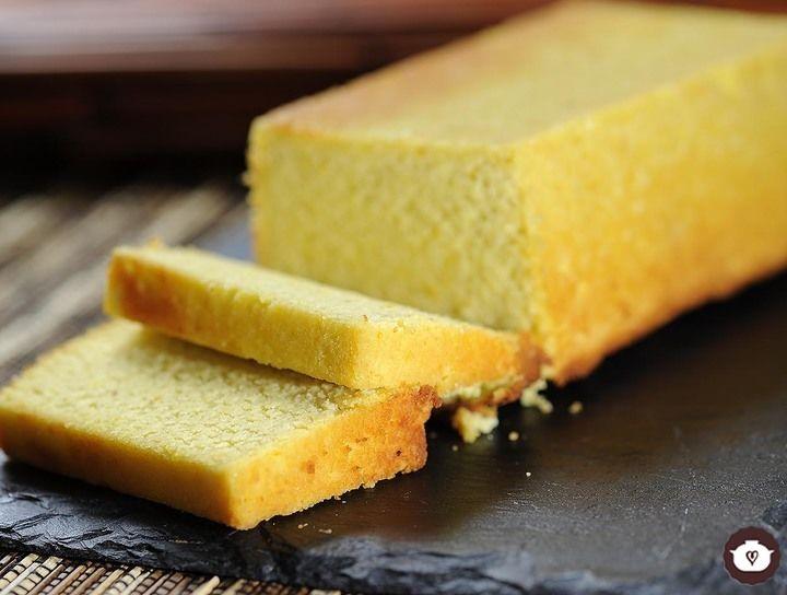 Panqué de naranja sin gluten