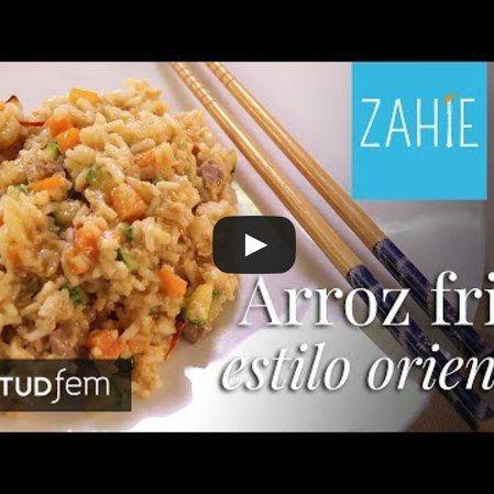 Arroz frito estilo oriental