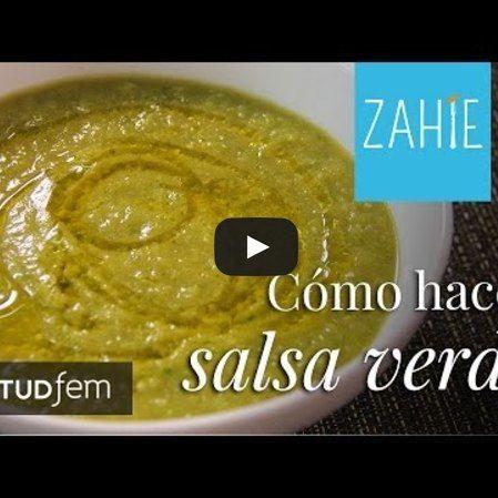 Salsa verde cocida