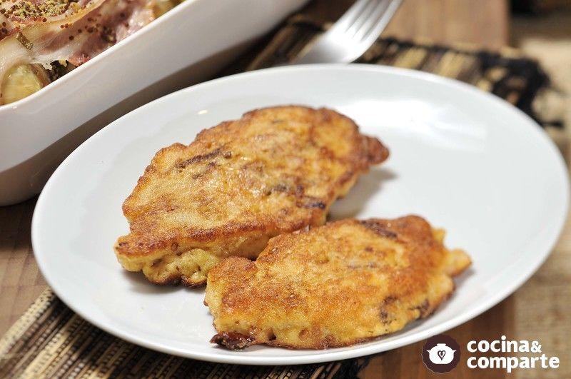 Tortitas de pan con chipotle