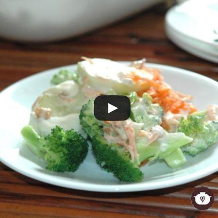 Ensalada de brócoli y pepino