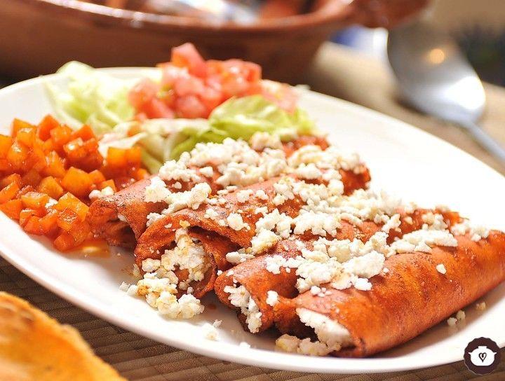 Enchiladas norteñas