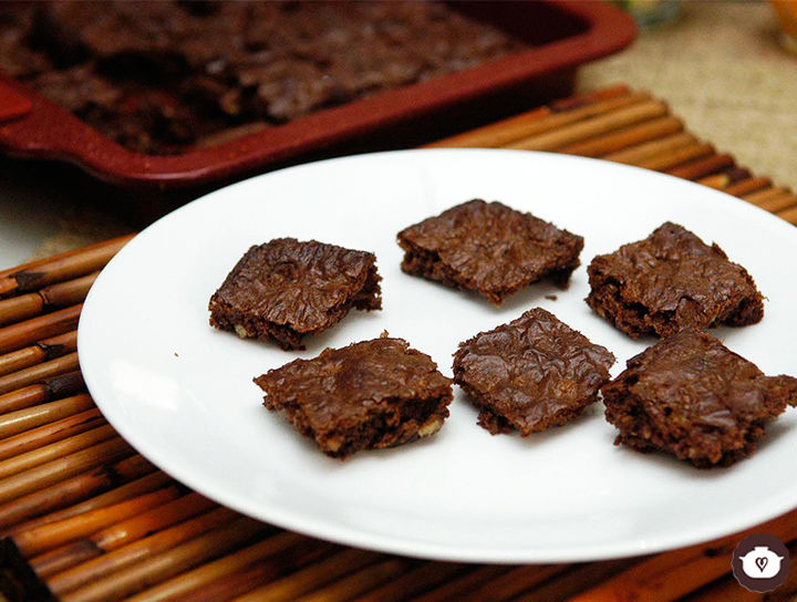 Brownies de nutella de 4 ingredientes