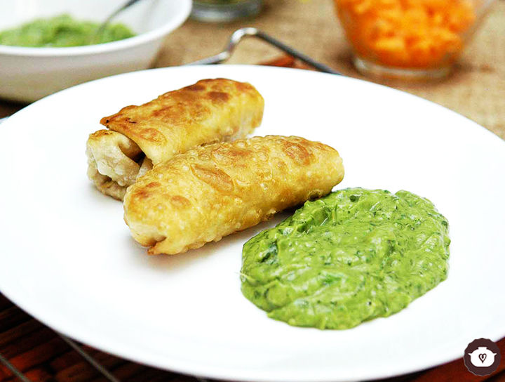 Chimichanga de carne de res