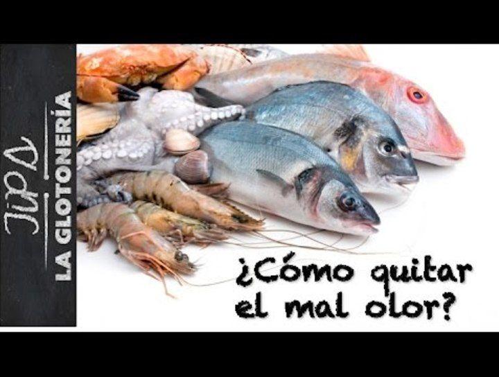 Quita el mal olor a los mariscos