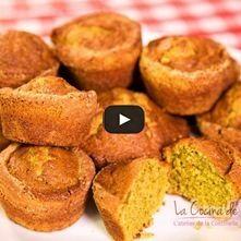 Muffins de te verde deliciosos y nutritivos