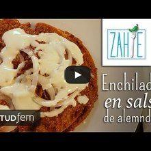 Enchiladas de almendras