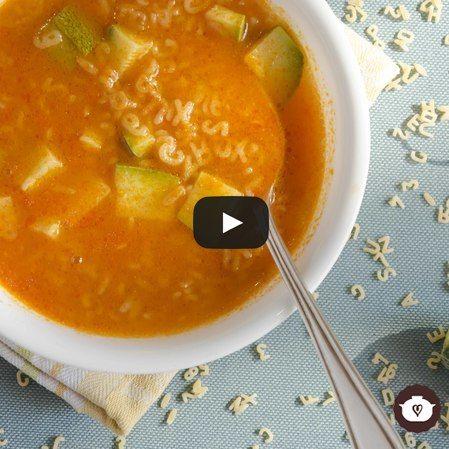 Sopa caliente de letras