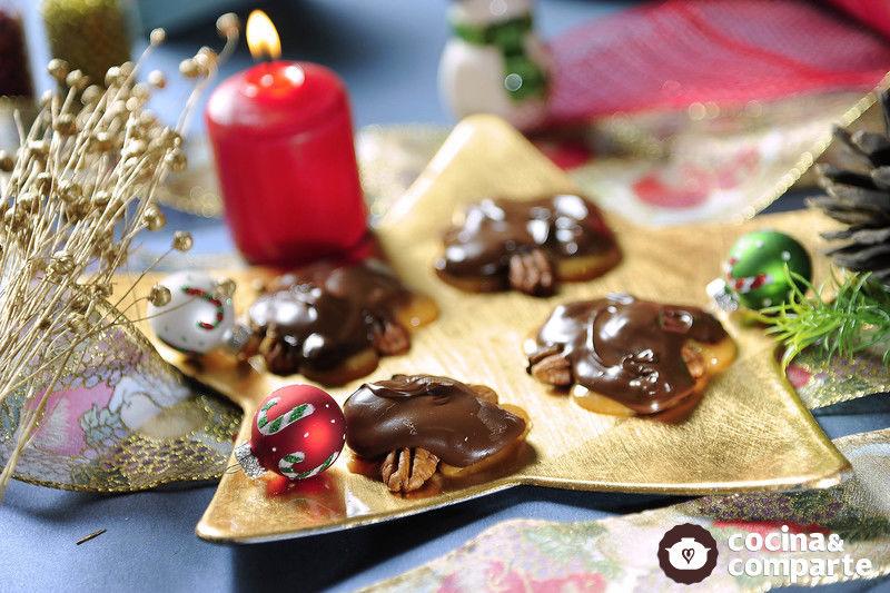 Tortugas de Chocolate