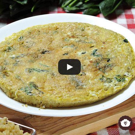 Tortilla de quinoa