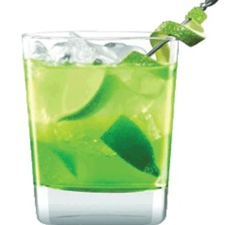 Linterna verde - Cóctel con tequila