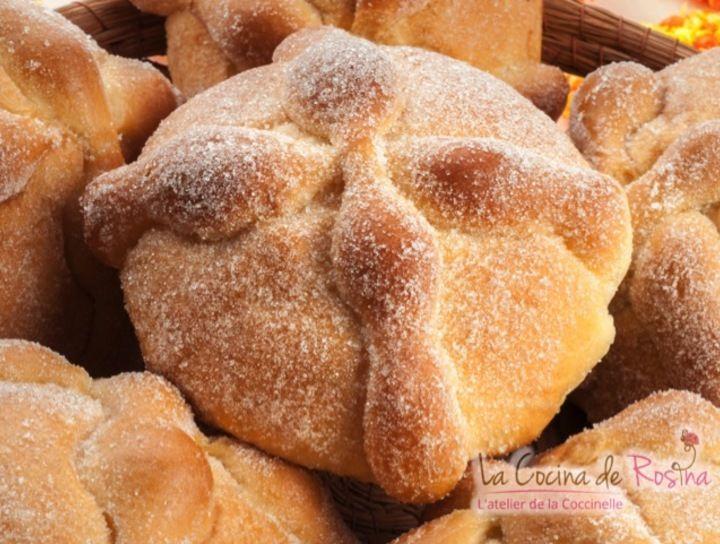 Receta de pan muerto