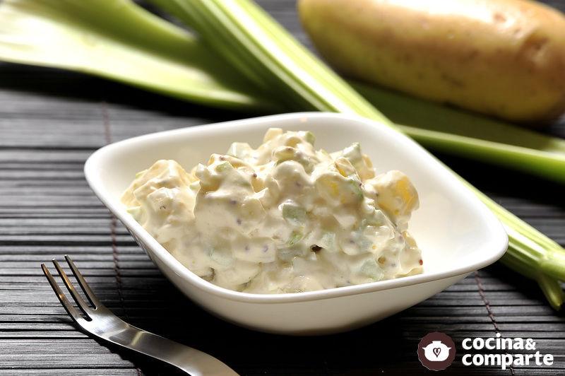 ensalada de papa y mayonesa